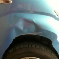 Dent Removal Before